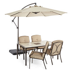 Outdoor Oasis™  Stratton 5pc Dining Set