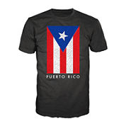 Puerto Rico Crackle Short-Sleeve Tee