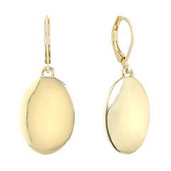 Gloria Vanderbilt Yellow Drop Earrings