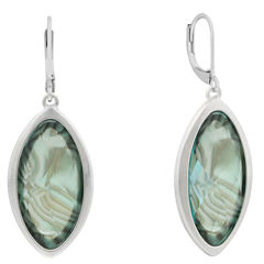 Gloria Vanderbilt Blue Drop Earrings