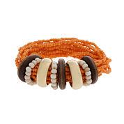 El By Erica Womens Beaded Bracelet