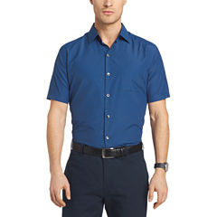 Van Heusen Air Short Sleeve Button-Front Shirt