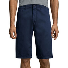 "Arizona 12"" Inseam Longboard Flat-Front Cotton Shorts"
