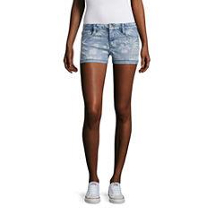 Arizona Floral Shorts-Juniors