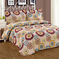 Journee Home 3 pc Print Bedspread Set