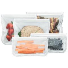 BlueAvocado® rezip 5-pc. Reusable Storage Bag- Set