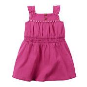 Carter's® Pink Sleeveless Dress Set - Baby Girls newborn-24m
