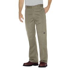 Dickies® Loose-Fit Straight-Leg Double-Knee Twill Work Pants