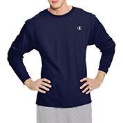 Champion® Long-Sleeve Jersey Tee