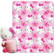 Hello Kitty Throw and Pillow Set