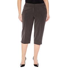 Worthington® Bi-Stretch Cropped Pants - Plus