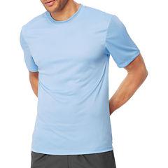 Hanes Cooldri Short Sleeve Crew Neck T-Shirt