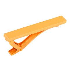 Orange Stainless Steel Tie Bar