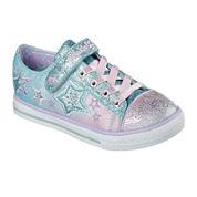 Skechers® Enchanters Girls Light-Up Sneakers - Little Kids