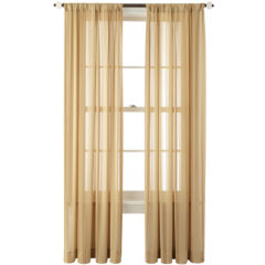 95 inch yellow sheer curtains for window - jcpenney