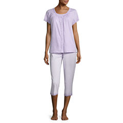 Adonna 3pc Capri Pajama Set