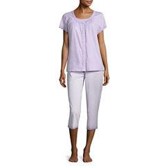 Adonna 3pc Capri Pajama Set