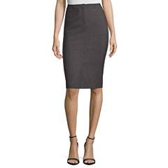 Worthington Trouser Pencil Skirt