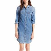 Levi's® LongSleeve Shirt Dress