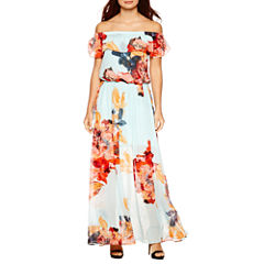 Bisou Bisou Off the Shoulder Maxi Dress