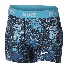Nike Compression Shorts - Big Kid Girls