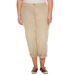 Plus Size Brown Capris & Crops for Women - JCPenney
