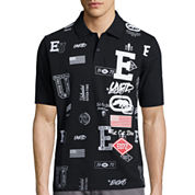 Ecko Unltd.® Stacked Block Short-Sleeve Polo