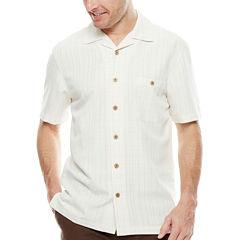Island Shores™ Short-Sleeve Button-Front Shirt