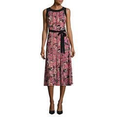 Perceptions Sleeveless Fit & Flare Dress