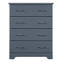 Storkcraft Brookside 4-Drawer Nursery Dresser - Gray