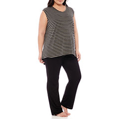 Spencer Maternity Nursing Pajama Set - Plus