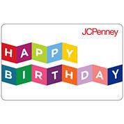 $25 Happy Birthday Banner Gift Card