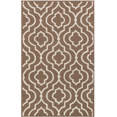 Attractive Arabesque Rectangular Rug