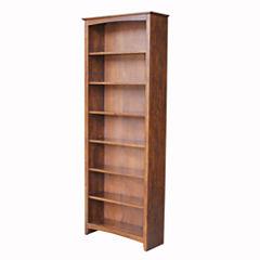 Shaker 7-Shelf Bookshelf