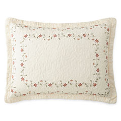 Home Expressions™ Avalon Embroidered Sham
