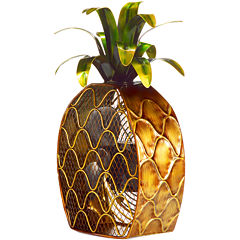 Deco Breeze Pineapple Figurine Fan