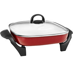 Cooks 12x12in Ceramic Electric Skillet