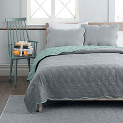Avondale Manor Charlotte 3-pc. Reversible Quilt Set