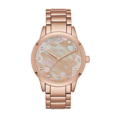 Relic Womens Rose Goldtone Bracelet Watch-Zr12203
