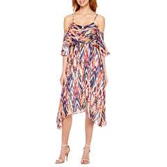 a.n.a Cold Shoulder Maxi Dress
