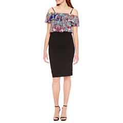 Nicole By Nicole Miller Off the Shoulder Blouson Dress