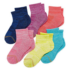 Gold Toe 6 Pair Quarter Socks