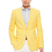 Stafford Classic Fit Basketweave Sport Coat
