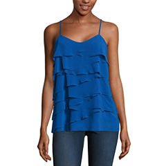 nicole by Nicole Miller Ruffle Cami Top