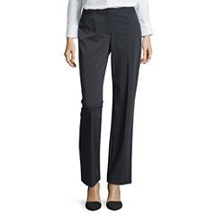Liz Claiborne® Classic Audra Straight Leg Pants - Tall
