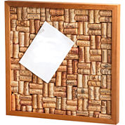 Wine Enthusiast® Small Wine Cork Board Kit