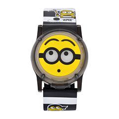 Universal Despicable Me Boys Multicolor Strap Watch-Dsm4026jc
