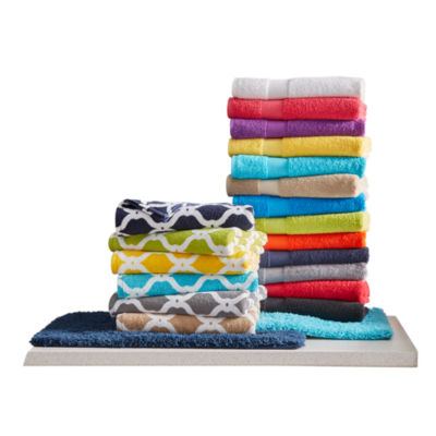 JCPenney Home™ Bath Towel U0026 Bath Rug Collection