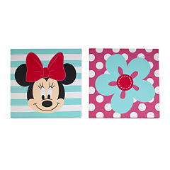Disney Baby Minnie Mouse 2-pc. Wall Art