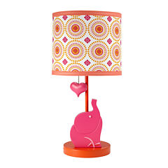 Happy Chic by Jonathan Adler Party Elephant Table Lamps